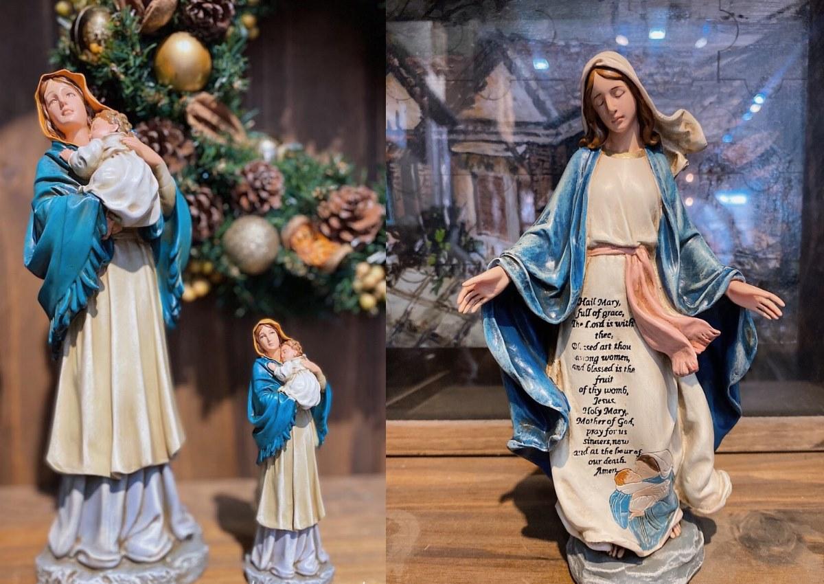 Tượng Công Giáo Mini Cổ Điển sắc sảo, đẹp, sống động