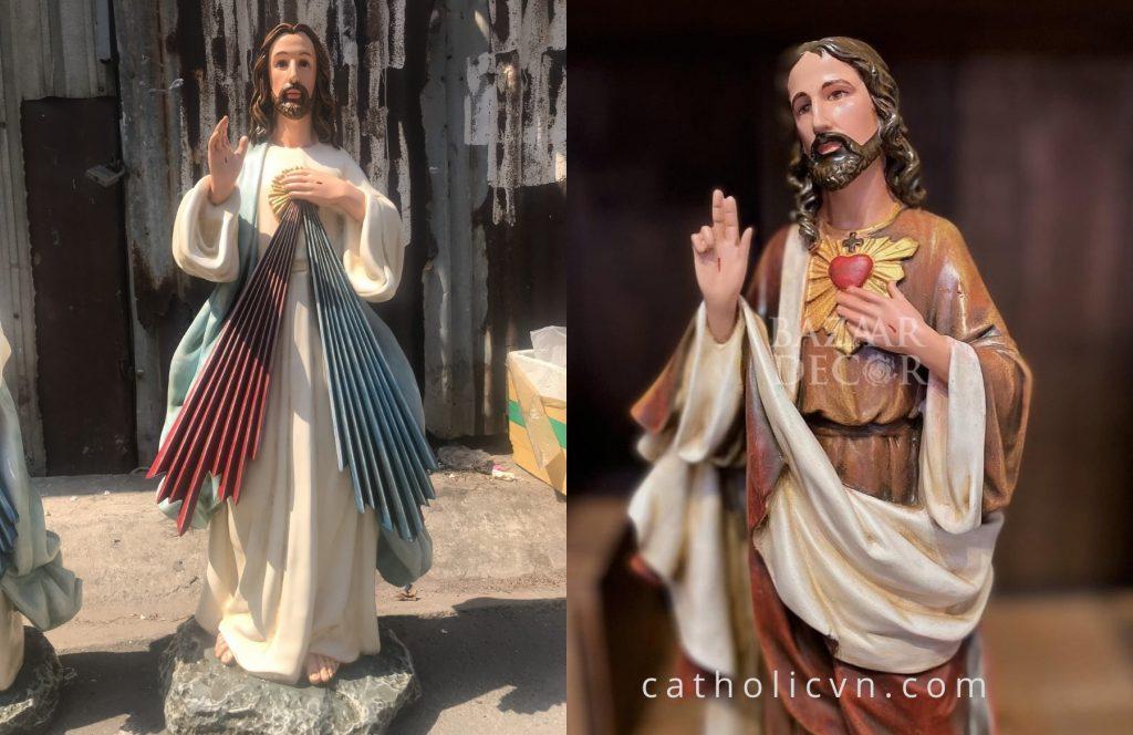 Tượng Chúa Giesu đẹp được tìm kiếm trên các trang thương mại, các trang web online, tìm kiếm google... Hôm nay, chúng tôi chia sẻ đến quý vị một số câu chuyện về Đức Chúa Kito và những mẫu Tượng Công Giáo về Chúa Giesu đẹp nhất. Nơi trưng bày, nơi mua uy tín hoặc ở đâu có bán để bạn có thể chuộc được những bức Tượng Chúa đẹp nhất tại Việt Nam. Nhiều câu hỏi liên quan đến: Tượng Chúa Giesu đẹp được tìm kiếm trên các trang thương mại, các trang web online, tìm kiếm google... Hôm nay, chúng tôi chia sẻ đến quý vị một số câu chuyện về Đức Chúa Kito và những mẫu Tượng Công Giáo về Chúa Giesu đẹp nhất. Nơi trưng bày, nơi mua uy tín hoặc ở đâu có bán để bạn có thể chuộc được những bức Tượng Chúa đẹp nhất tại Việt Nam. Công giáo giuse đức mẹ gỗ đá composite polyresin  đẹp nhất việt nam  hà nội hn tphcm thành phố hồ chí minh uy tín miễn phí