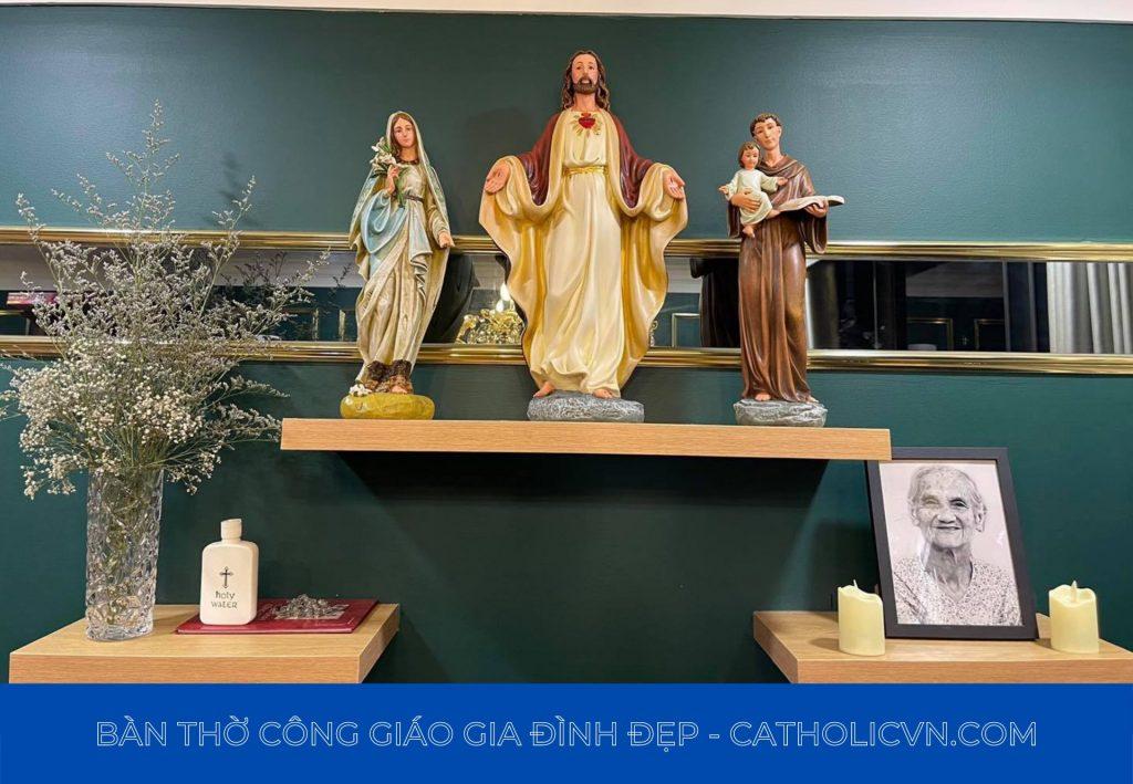 Bàn thờ công giáo gia đình nhập khẩu Itali, Beconi việt nam sản xuất giá rẻ