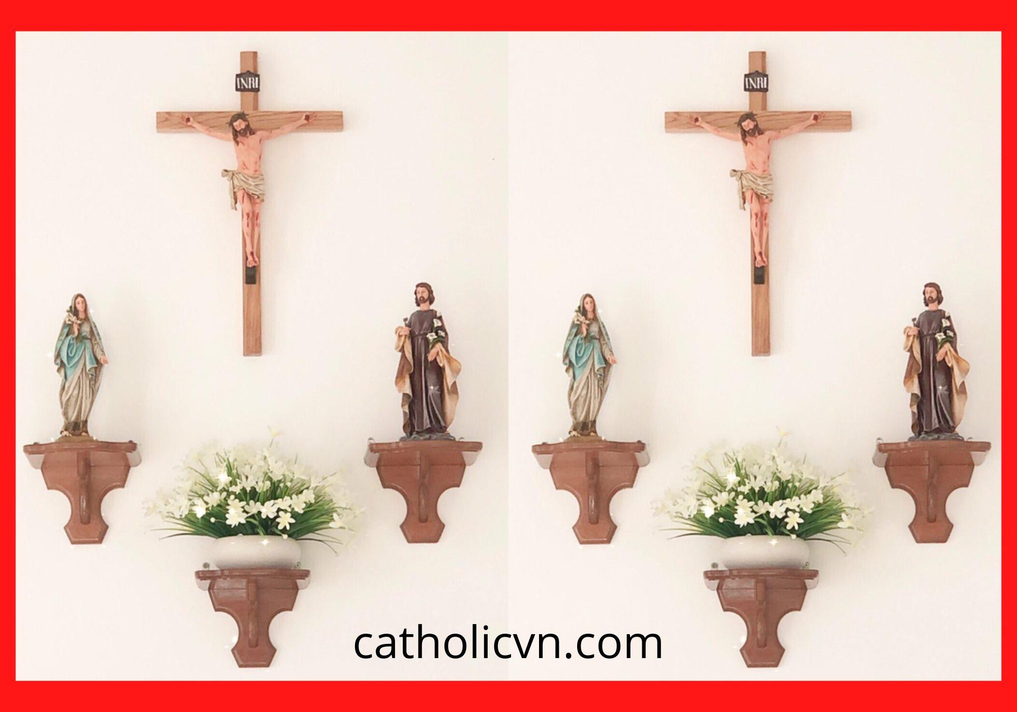 8+ mẫu Bàn Thờ Công Giáo đơn giản, trang trọng, hiện đại