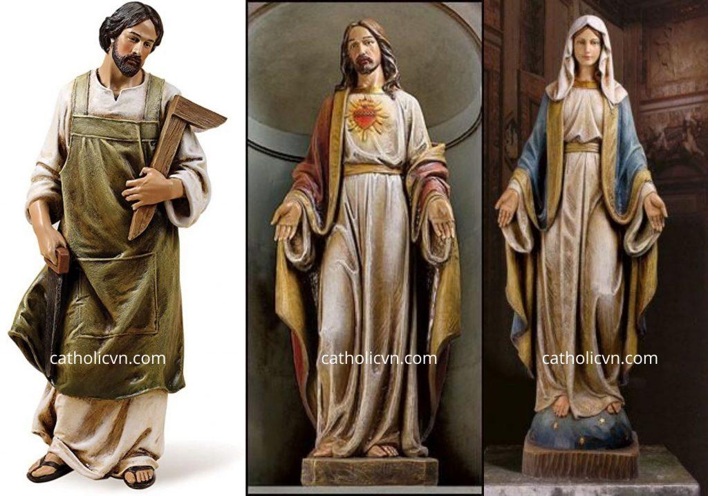 Mẫu Tượng Công Giáo ngoại nhập đẹp