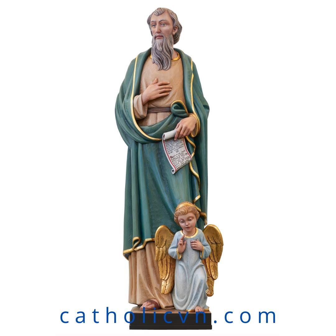 Tượng Thánh Mattheu – Tông Đồ Thánh Sử