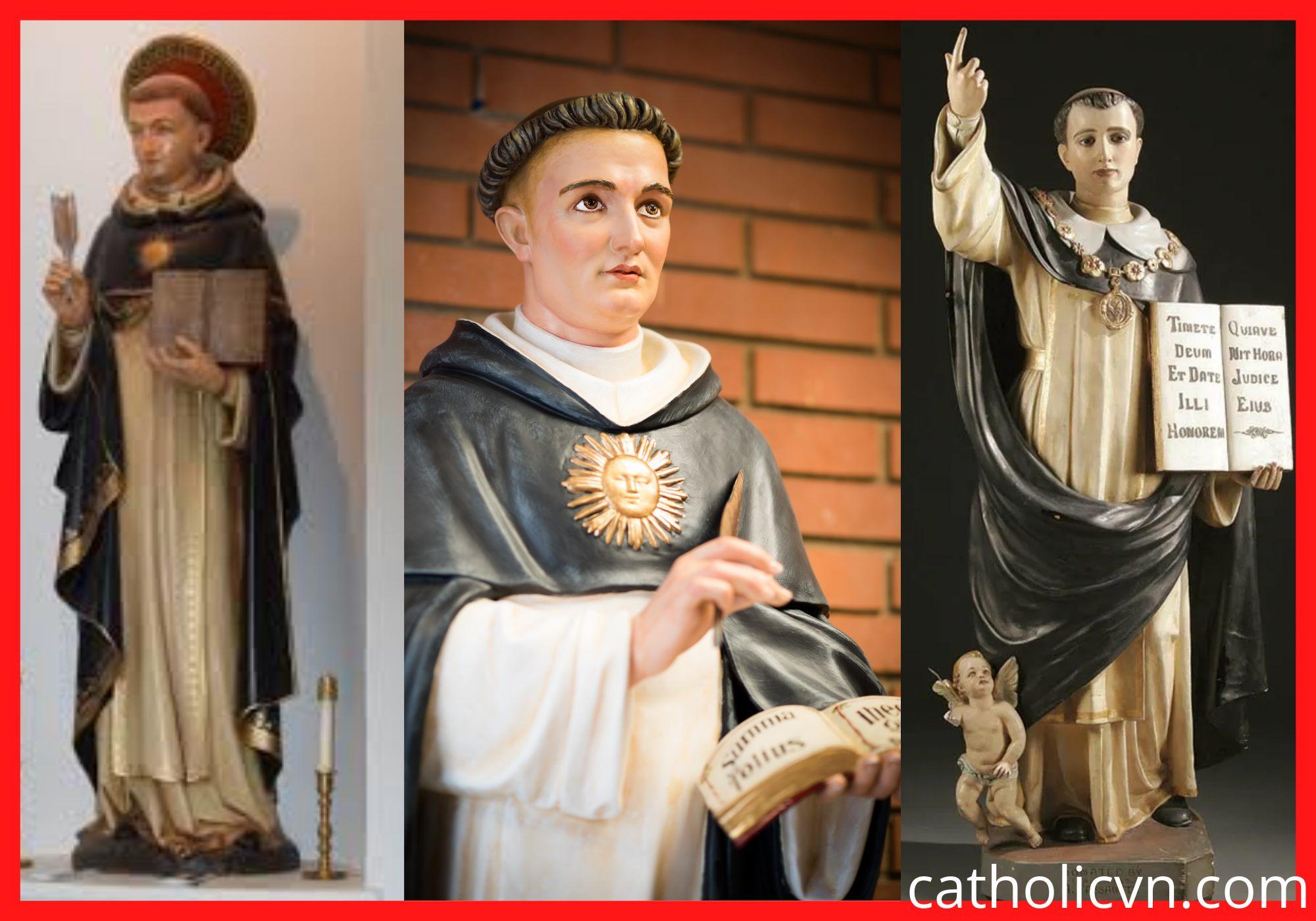 Tượng Thánh Tôma AQuino (Thomas Aquinas)